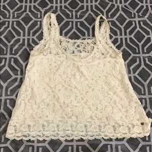 laced top